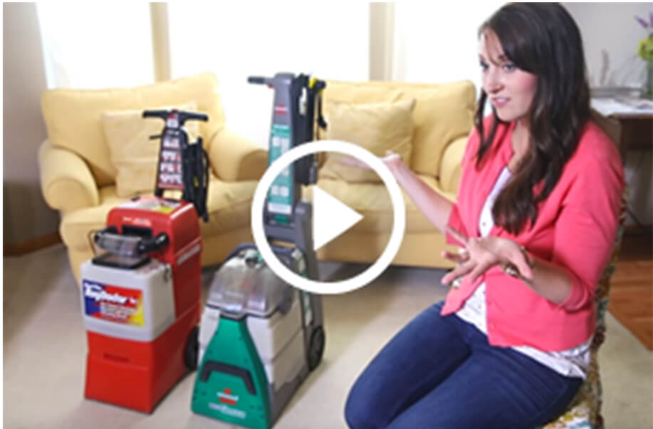 The Carpet Cleaner Challenge - YouTube Video